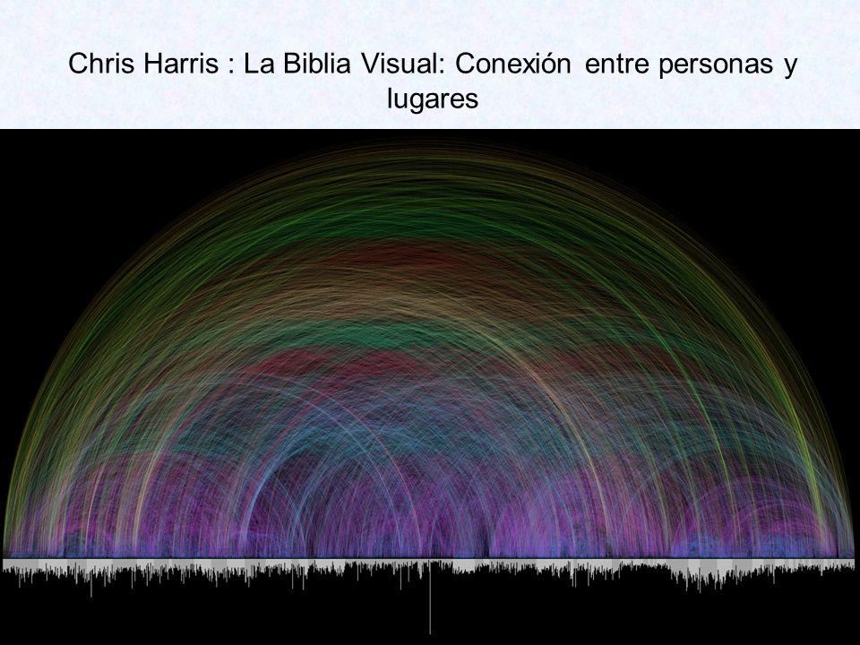 Chris Harris : La Biblia Visual: Conexión entre personas y lugares