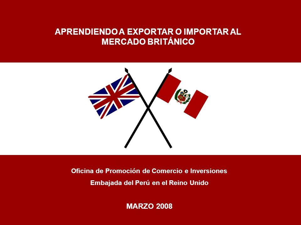 APRENDIENDO A EXPORTAR O IMPORTAR AL MERCADO BRITÁNICO