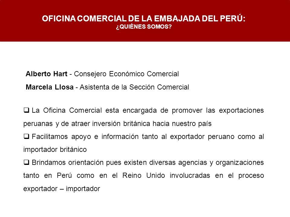 OFICINA COMERCIAL DE LA EMBAJADA DEL PERÚ: