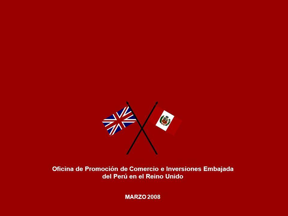 Oficina de Promoción de Comercio e Inversiones Embajada del Perú en el Reino Unido