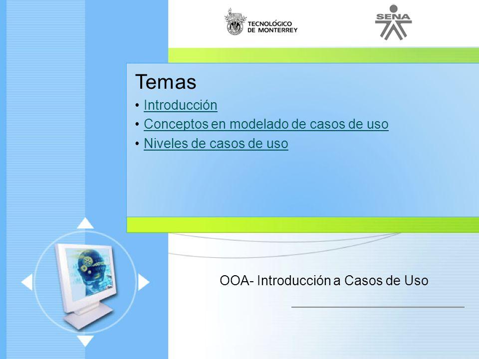 OOA- Introducción a Casos de Uso