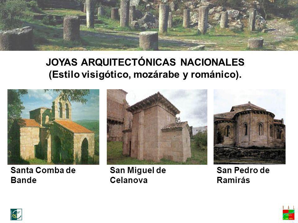 Ruta medievalJOYAS ARQUITECTÓNICAS NACIONALES (Estilo visigótico, mozárabe y románico). Santa Comba de Bande.