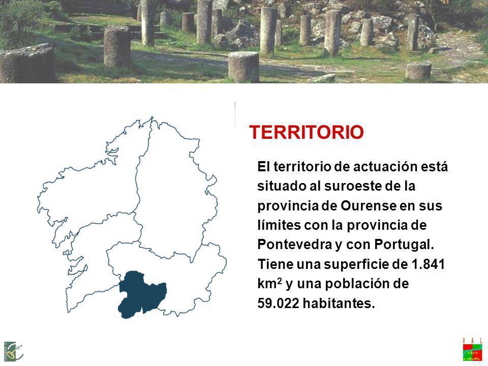 LEADER + VAL DO LIMIA-TERRA DE CELANOVA Territorio
