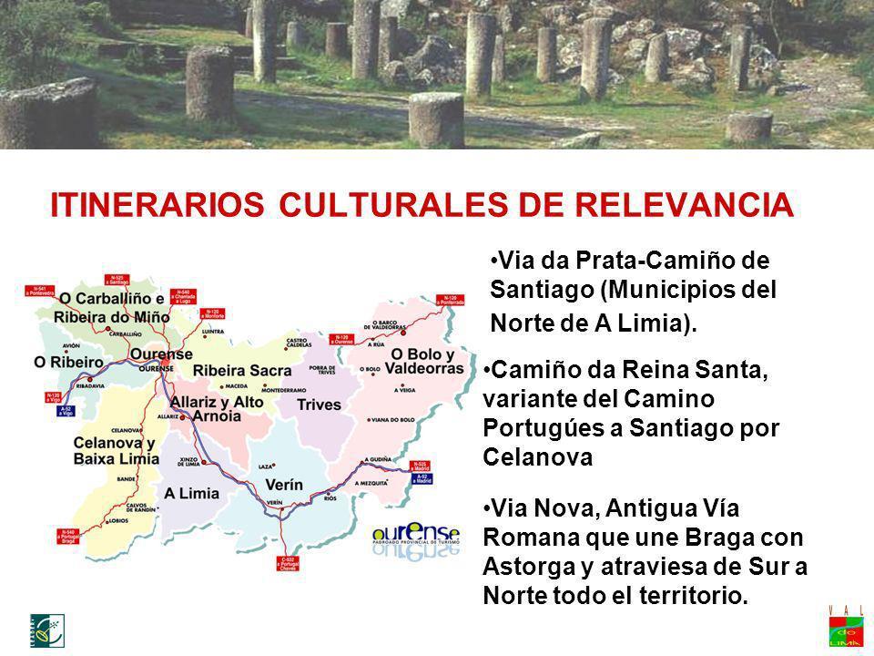 ITINERARIOS CULTURALES DE RELEVANCIA