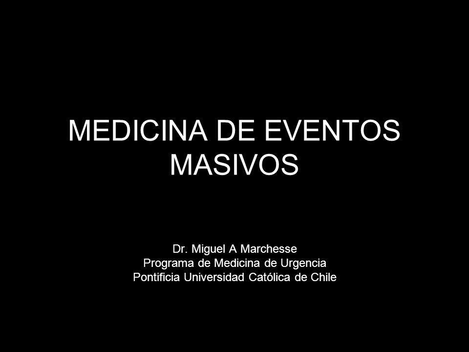 MEDICINA DE EVENTOS MASIVOS