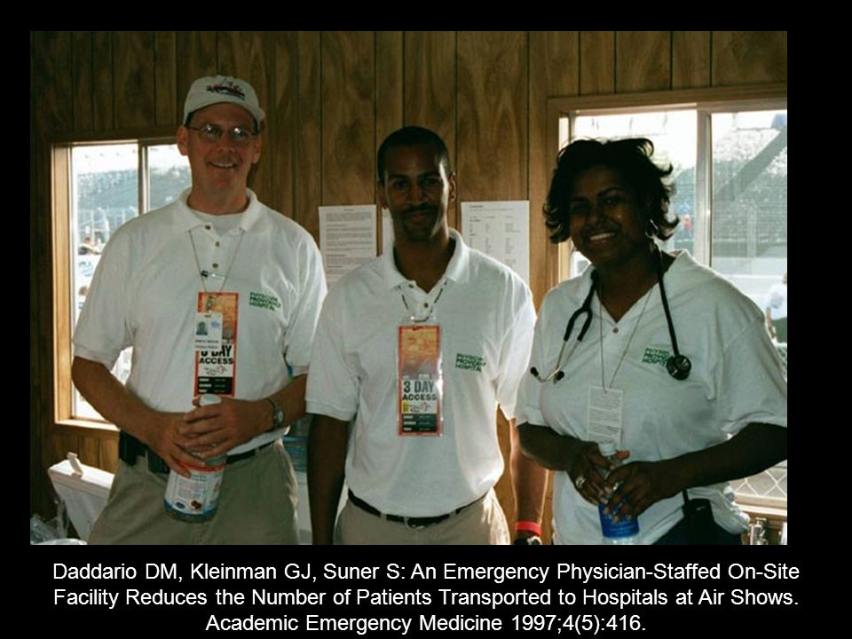 Academic Emergency Medicine 1997;4(5):416.