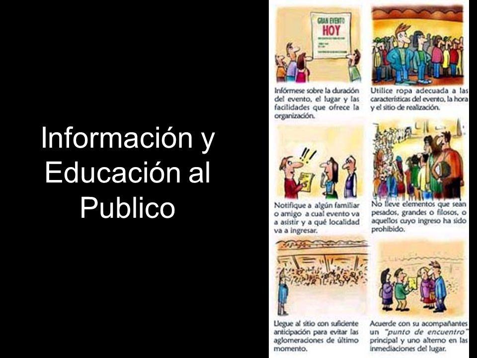 Información y Educación al Publico