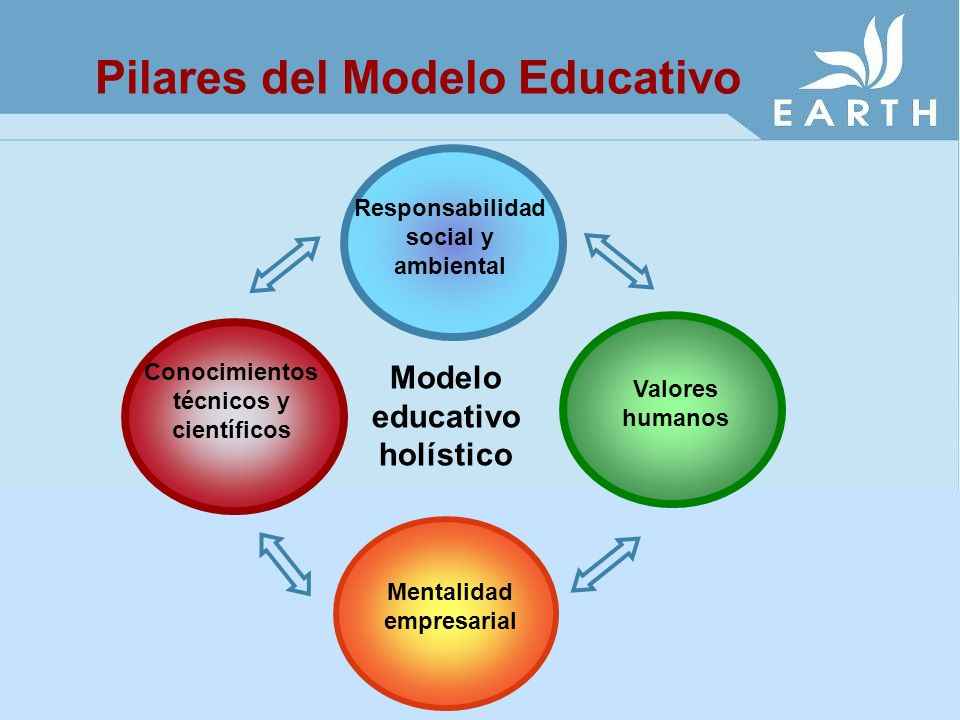 Pilares del Modelo Educativo
