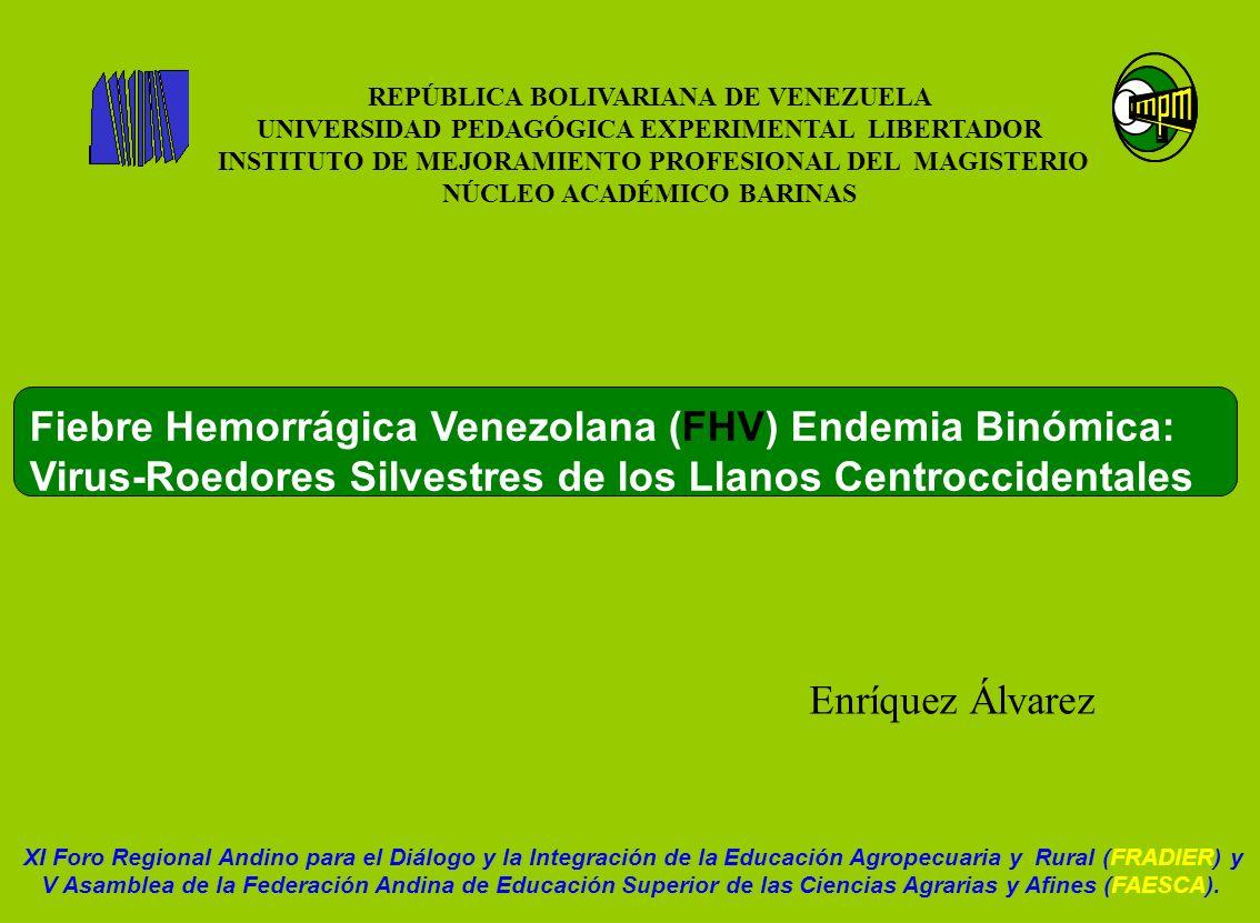 REPÚBLICA BOLIVARIANA DE VENEZUELA NÚCLEO ACADÉMICO BARINAS