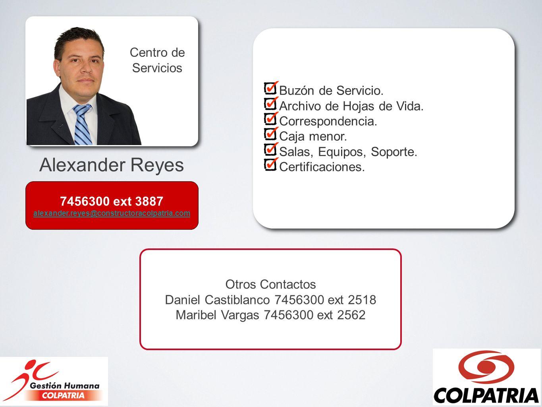 Daniel Castiblanco 7456300 ext 2518