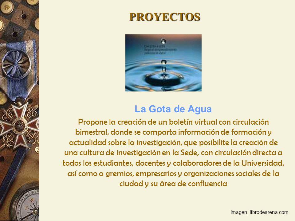 PROYECTOS La Gota de Agua