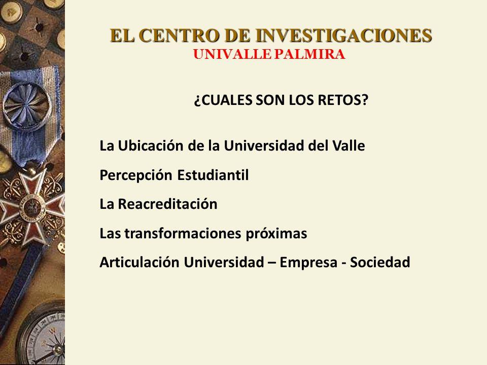 EL CENTRO DE INVESTIGACIONES