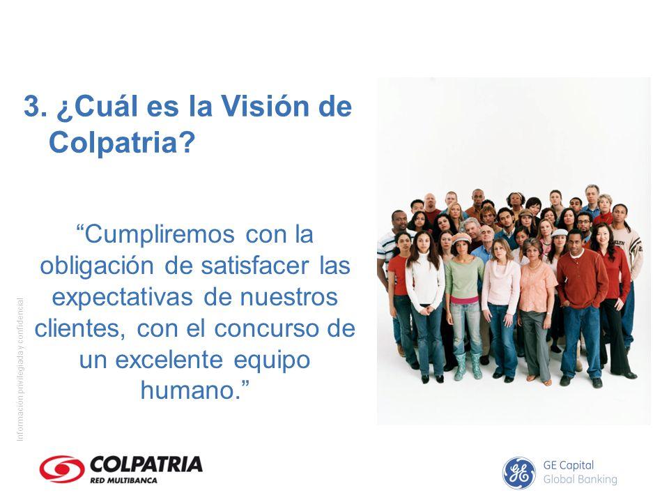 3. ¿Cuál es la Visión de Colpatria
