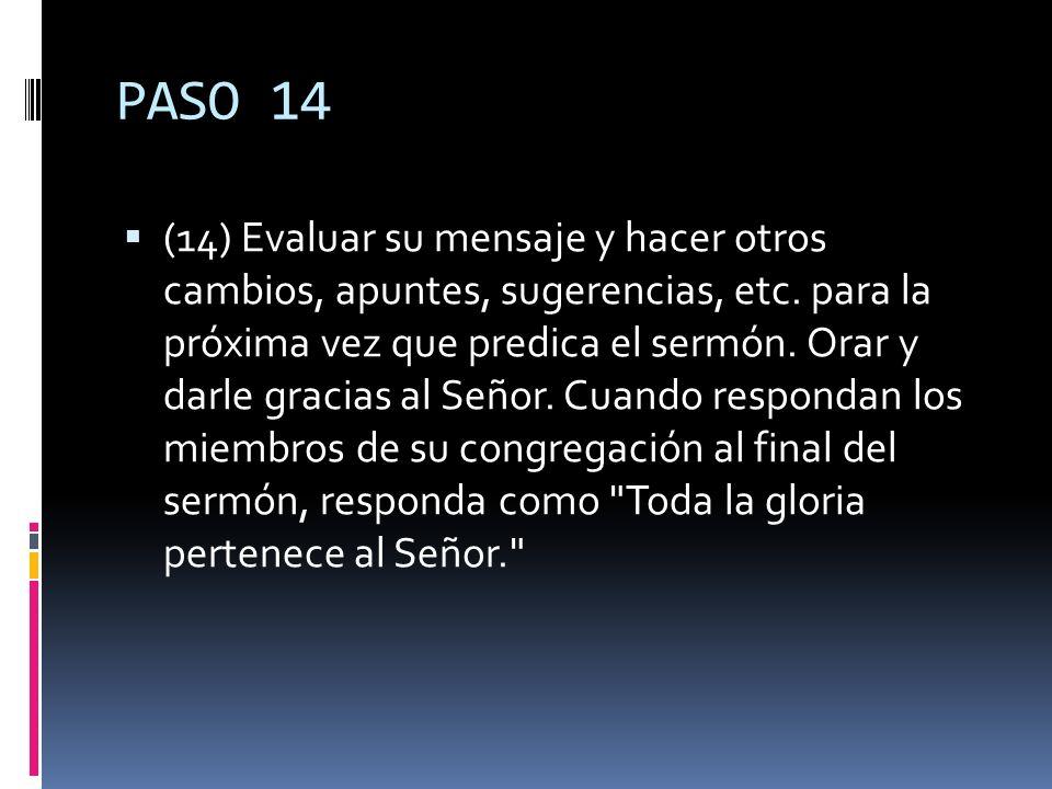 PASO 14