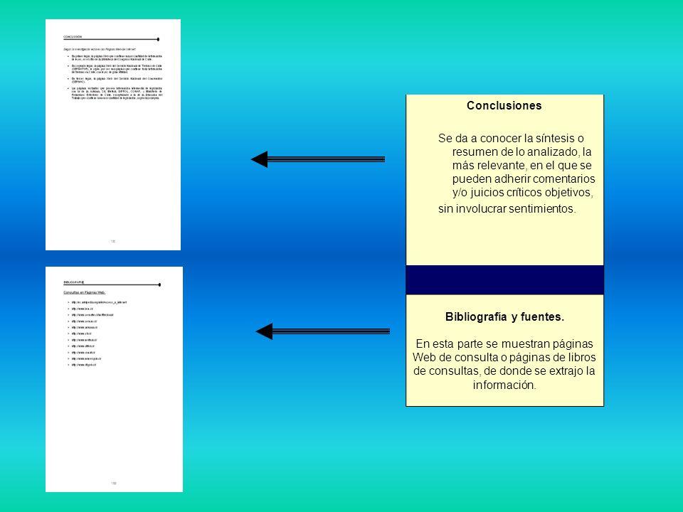 Bibliografía y fuentes.