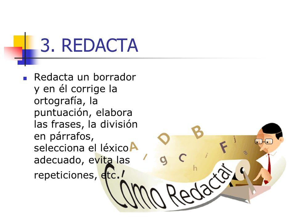 3. REDACTA