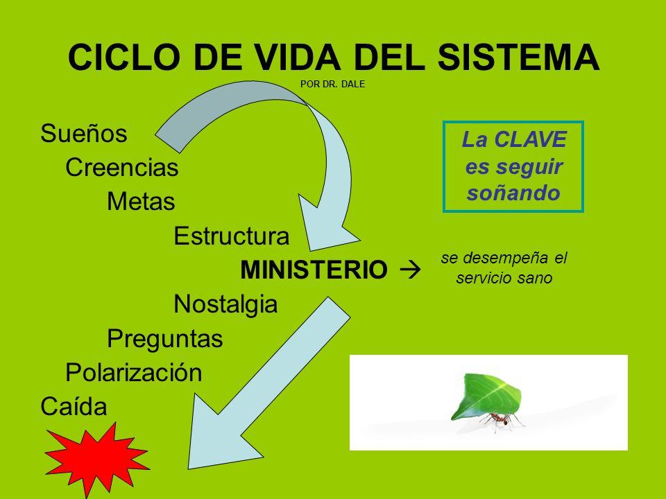 CICLO DE VIDA DEL SISTEMA POR DR. DALE