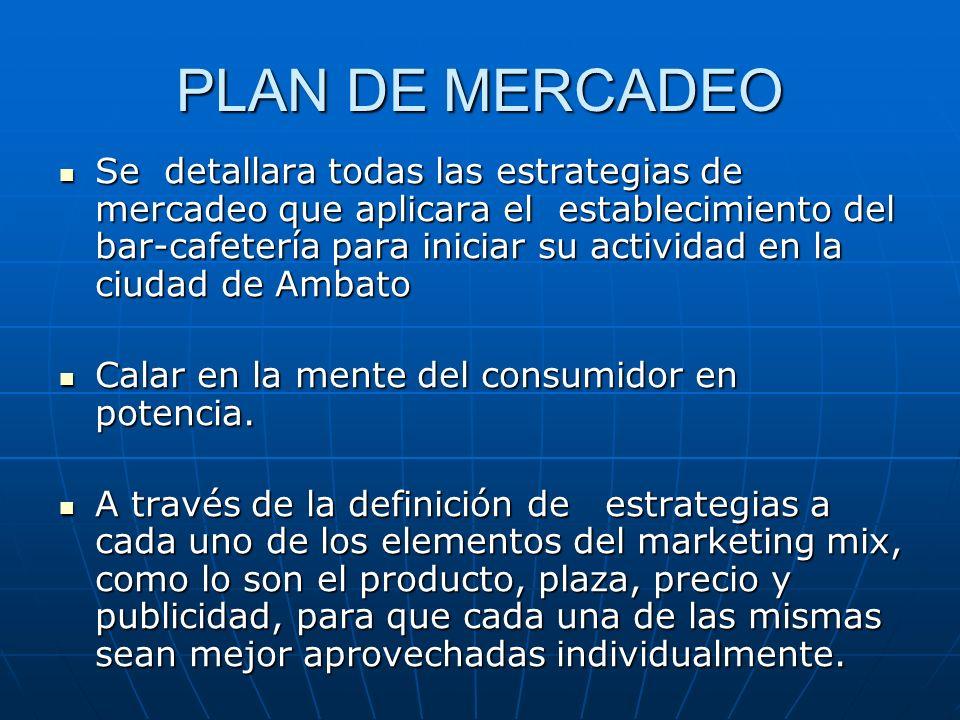 PLAN DE MERCADEO
