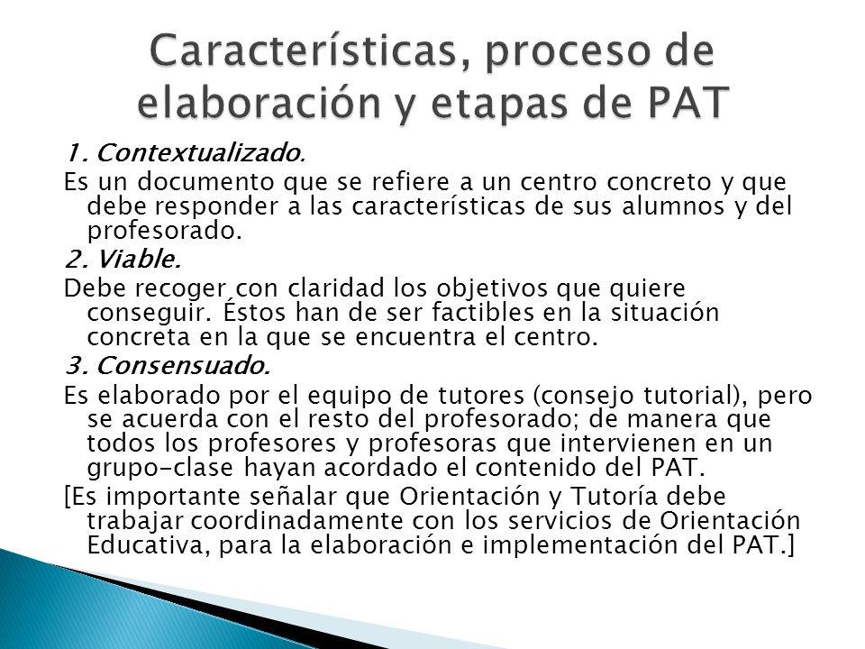 Características, proceso de elaboración y etapas de PAT