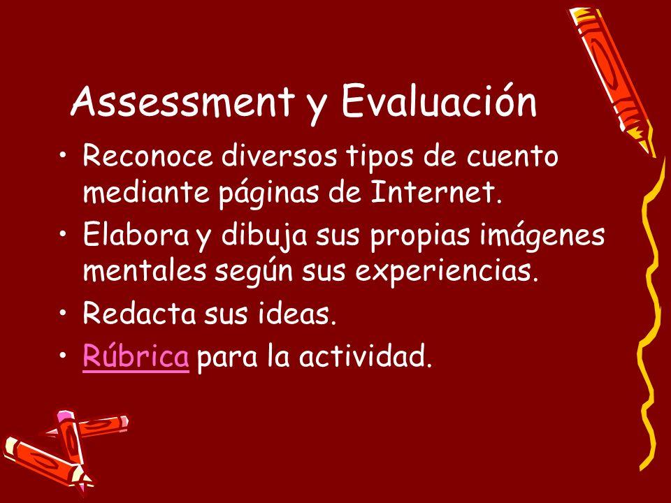 Assessment y Evaluación