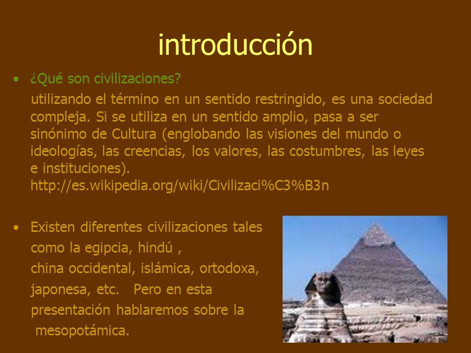 Civilizaciones antiguas. La Mesopotamia. - ppt descargar