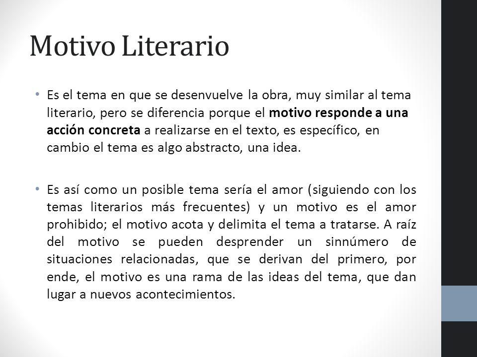 Motivo Literario