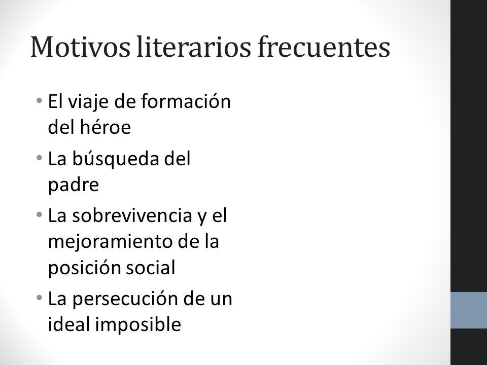 Motivos literarios frecuentes