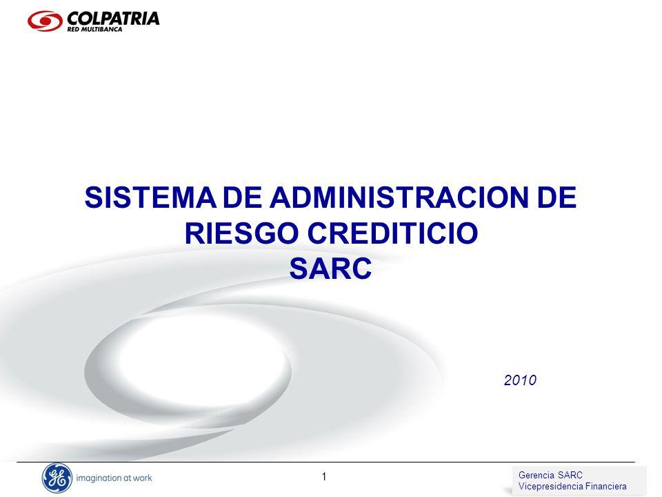 SISTEMA DE ADMINISTRACION DE RIESGO CREDITICIO