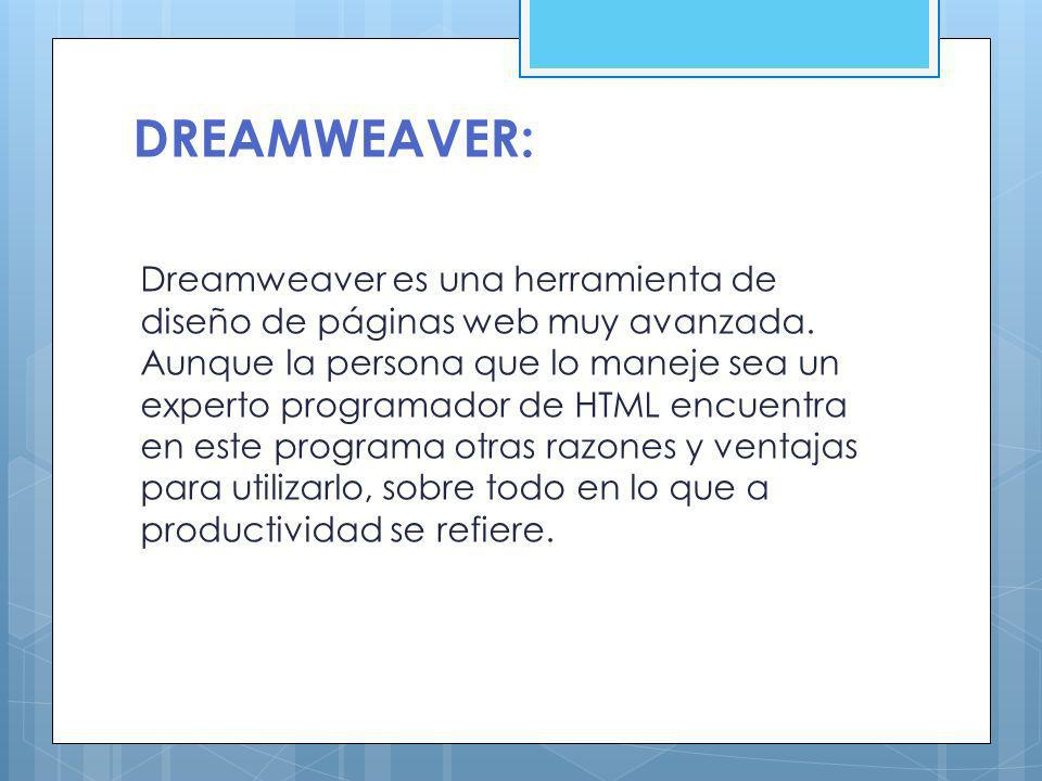 DREAMWEAVER: