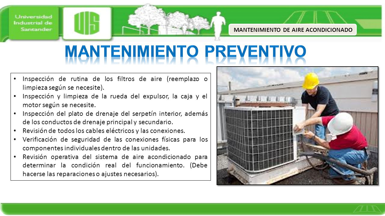 mantenimiento de aire acondicionado ppt video online