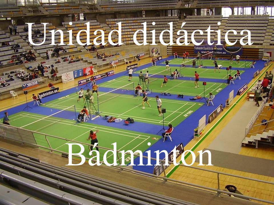 Unidad didáctica Bádminton