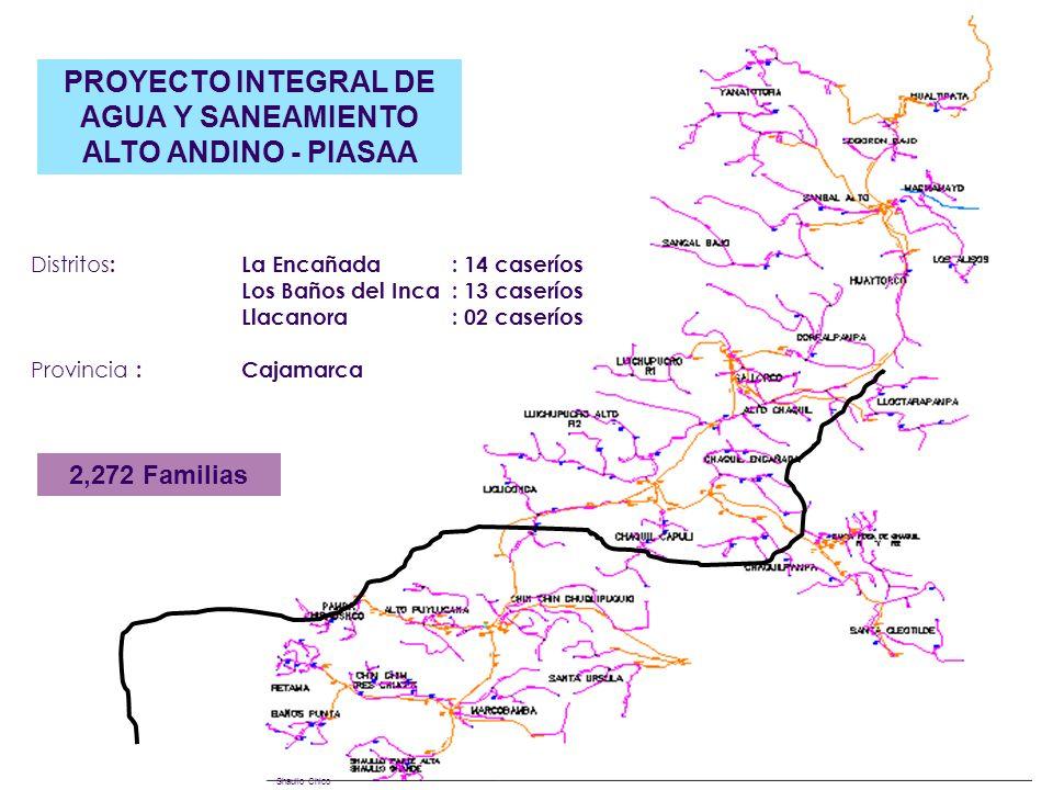 PROYECTO INTEGRAL DE AGUA Y SANEAMIENTO ALTO ANDINO - PIASAA
