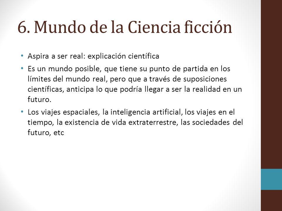 6. Mundo de la Ciencia ficción