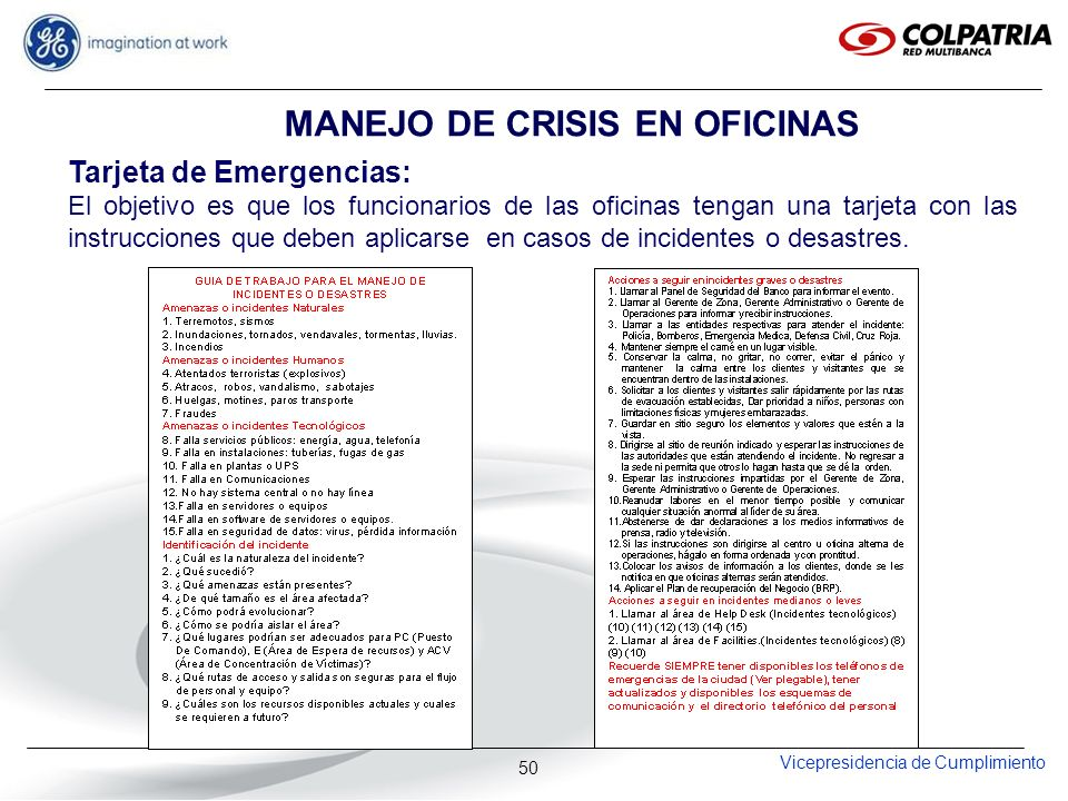 MANEJO DE CRISIS EN OFICINAS