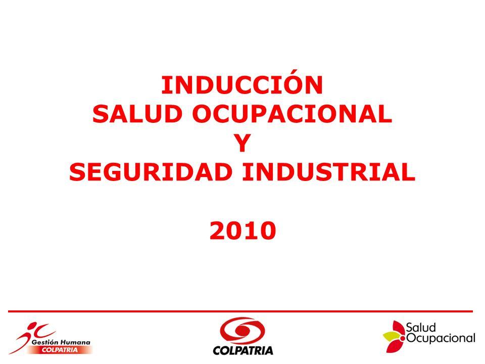 INDUCCIÓN SALUD OCUPACIONAL Y SEGURIDAD INDUSTRIAL 2010