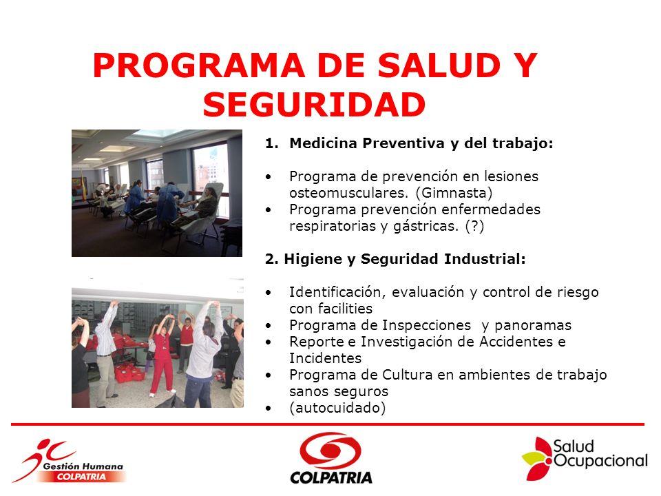 PROGRAMA DE SALUD Y SEGURIDAD