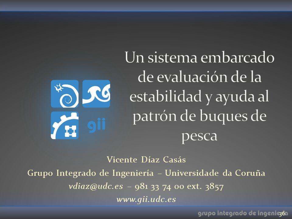 Grupo Integrado de Ingeniería – Universidade da Coruña
