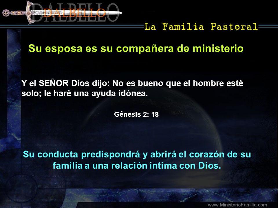 Su esposa es su compañera de ministerio