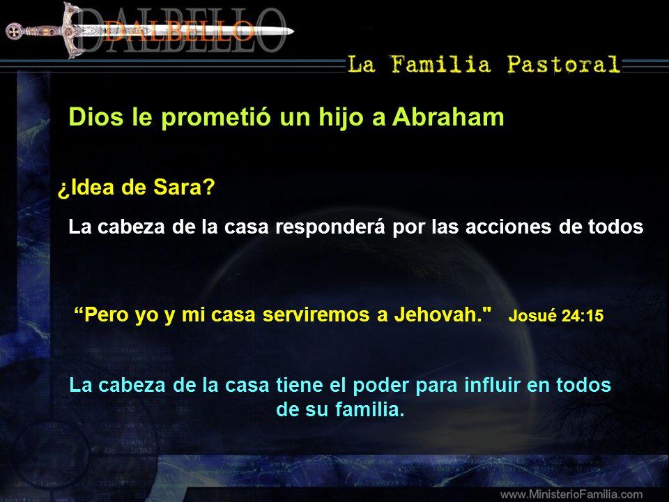 Dios le prometió un hijo a Abraham