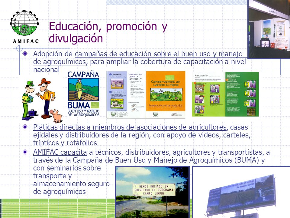 Educación, promoción y divulgación