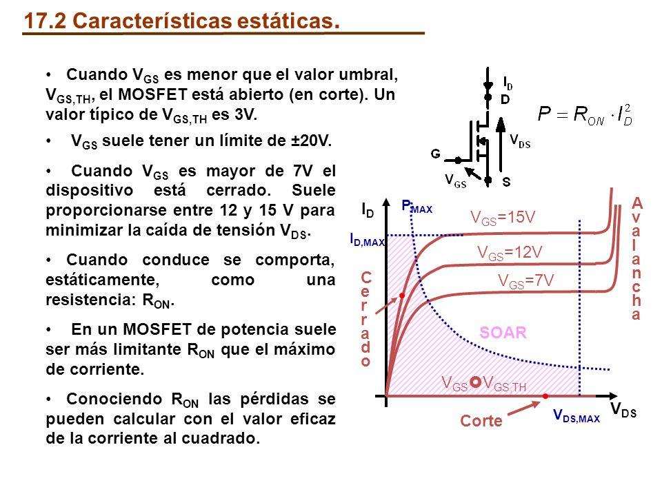17.2 Características estáticas.