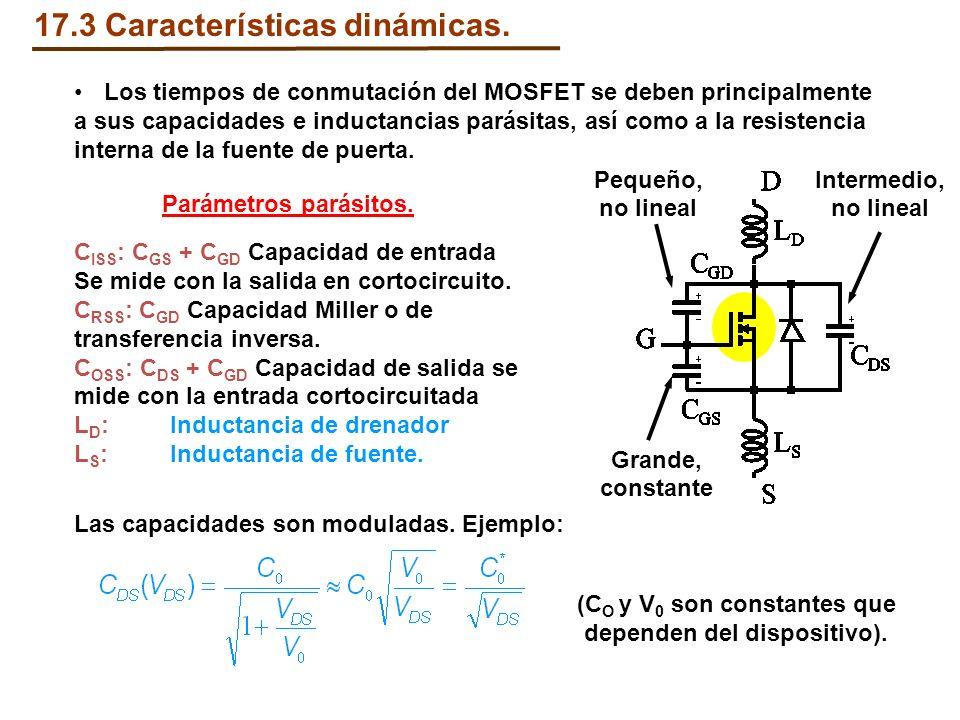 17.3 Características dinámicas.
