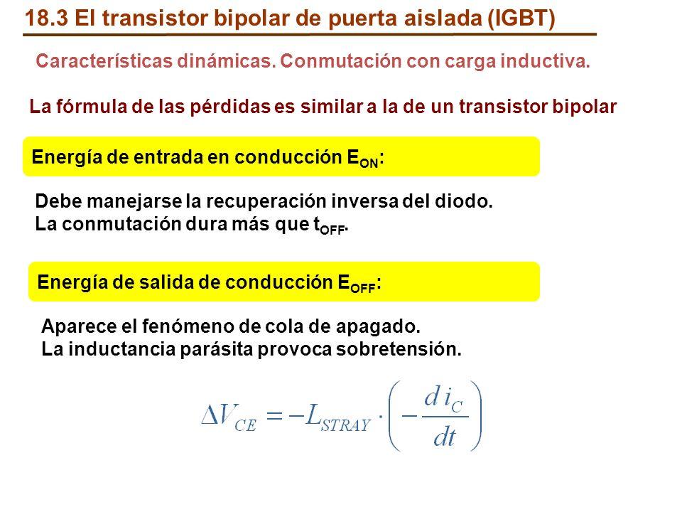 18.3 El transistor bipolar de puerta aislada (IGBT)