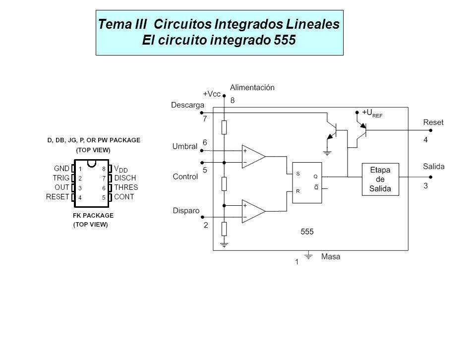 Tema III Circuitos Integrados Lineales