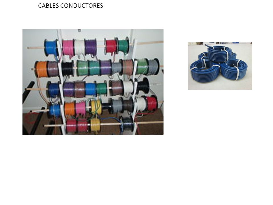 CABLES CONDUCTORES