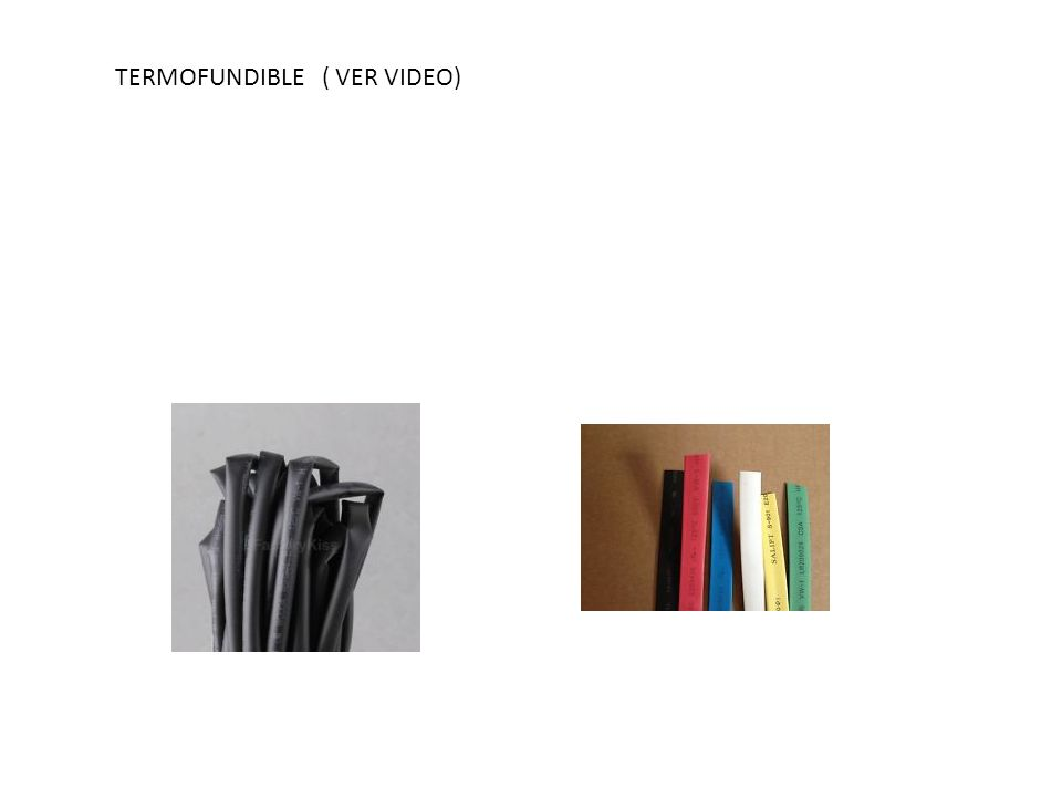 TERMOFUNDIBLE ( VER VIDEO)