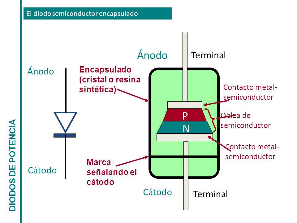 Ánodo P N Ánodo Cátodo Cátodo Terminal