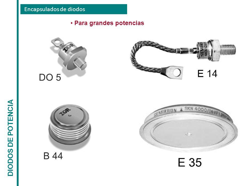 DO 5 B 44 DIODOS DE POTENCIA Encapsulados de diodos