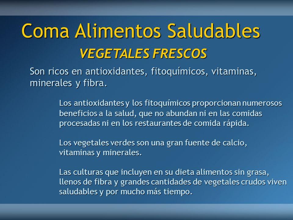 Coma Alimentos Saludables