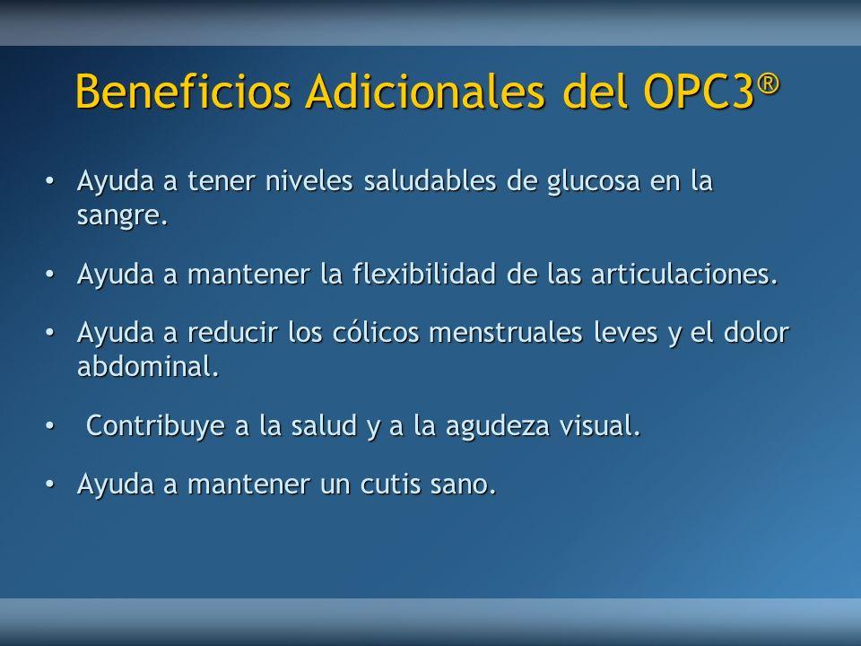 Beneficios Adicionales del OPC3®